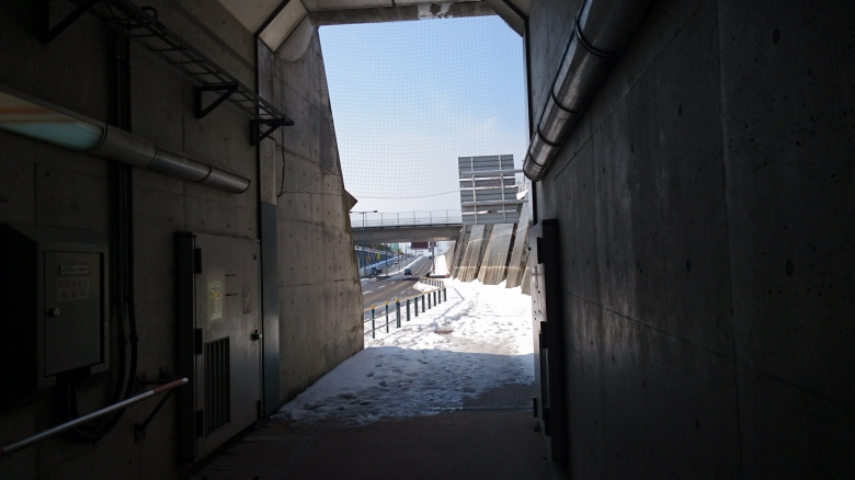 新潟みなとトンネル