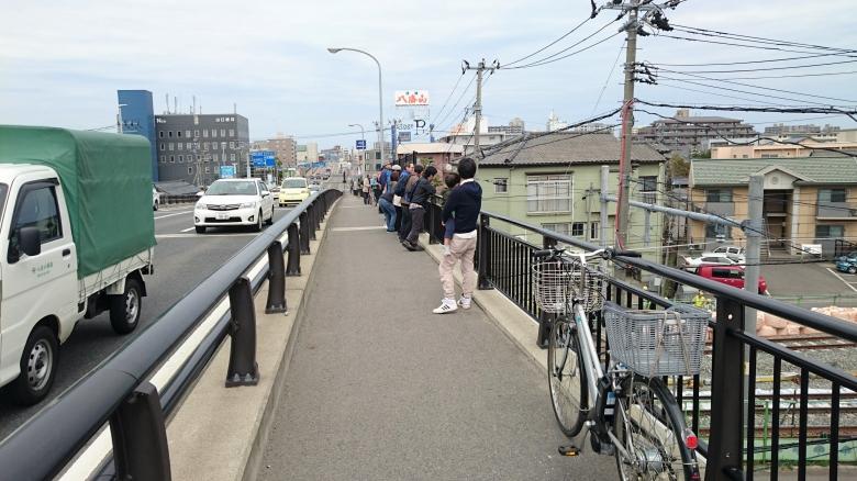 新潟駅 高架