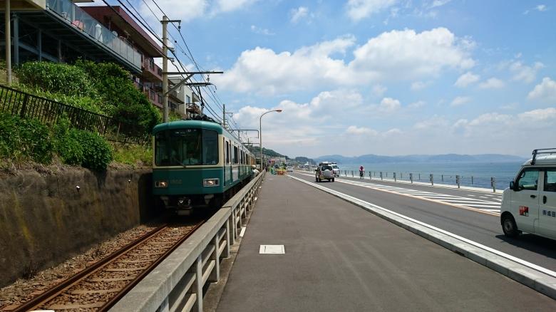 江ノ電 湘南海岸