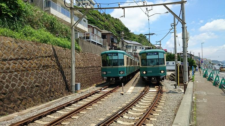 江ノ電 峰が原信号所