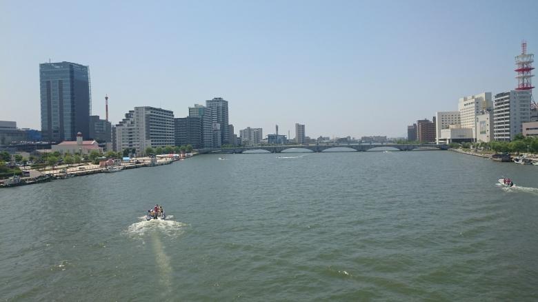 万代橋 信濃川