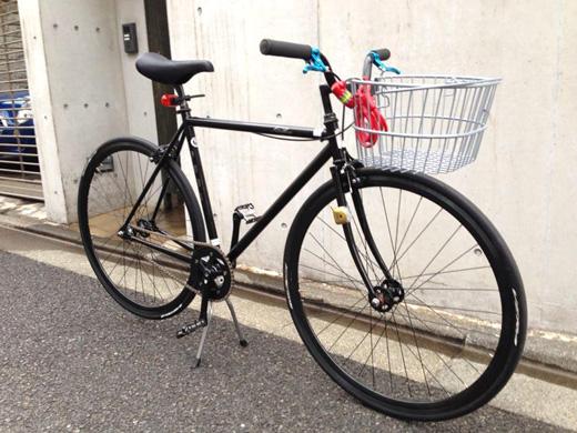 自転車の 自転車 スタンド 交換 変速機 : FUJI FEATHER シングルスピード ...
