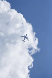 青空 雲 飛行機 AC