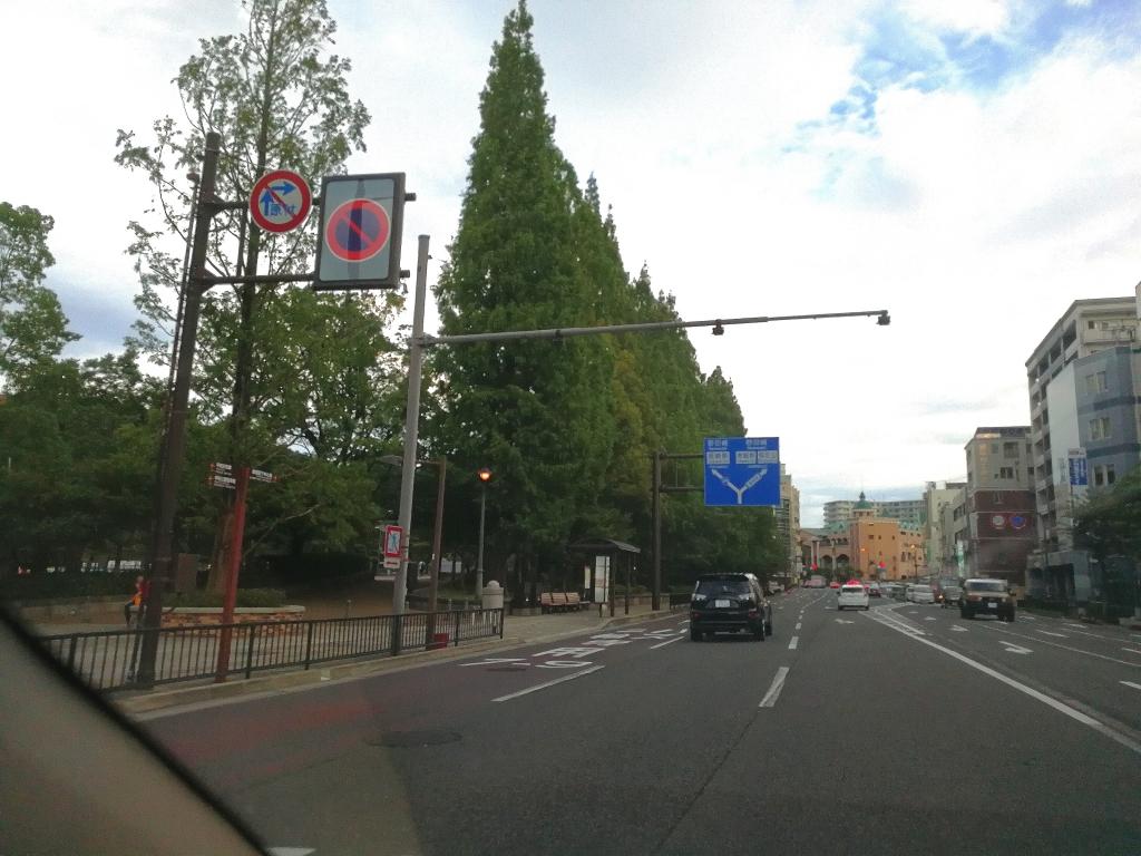 長崎原爆投下地点横の道(調整済み)