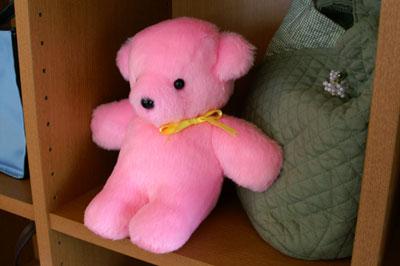 くまのコロ(ピンク)