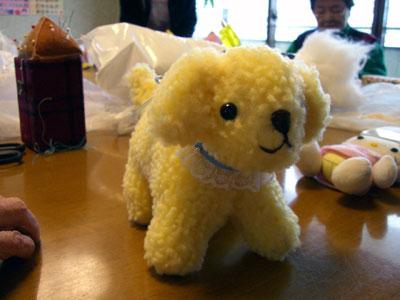 たれ耳子犬(黄モコ1)
