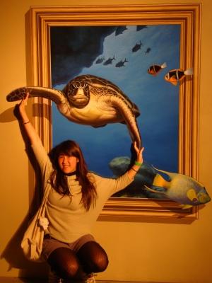 ��ͺTrick Art Turtle