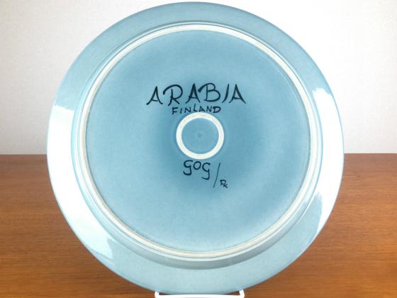 ARABIA/アラビア Fructus/フラクタス ブルー プレート33cm 1