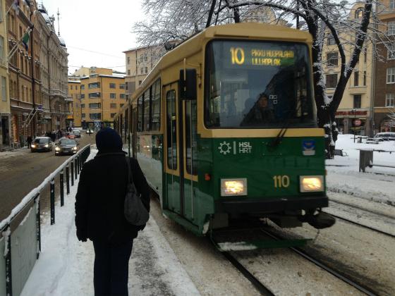 ヘルシンキ10番トラム
