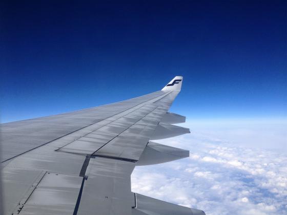 ヴァンター空港から成田へ帰ります。