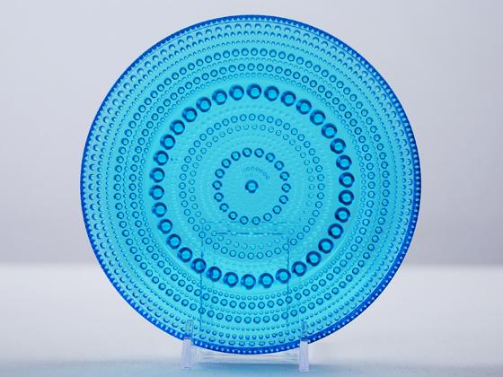 Kastehelmi/カステヘルミ プレート14cm ブルー