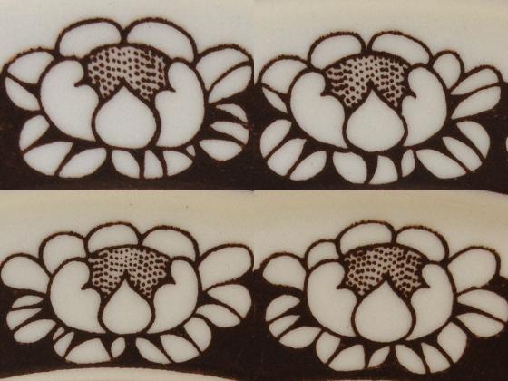 ARABIA Katrilli/カトリッリの花の違い
