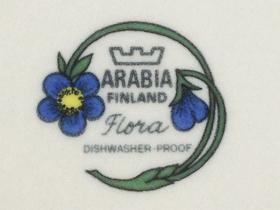 ARABIA/アラビア Flora/フローラのバックスタンプ