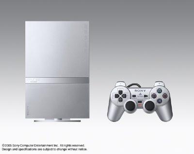 銀色PS2