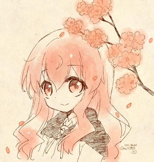桜とルイズ