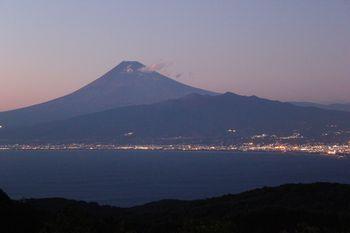 だるま山高原からの富士