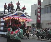 島田の祭り