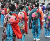 島田の祭り(子供)