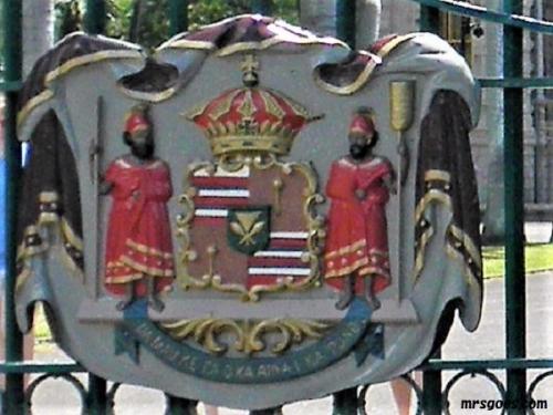 ハワイ王朝紋章