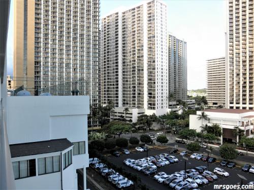 204 パシフィックビーチホテル景色