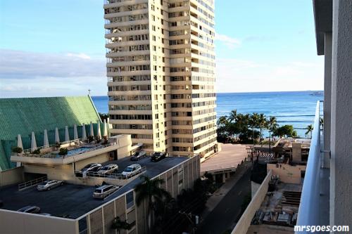 パシフィックビーチホテル パーシャルオーシャンビュー