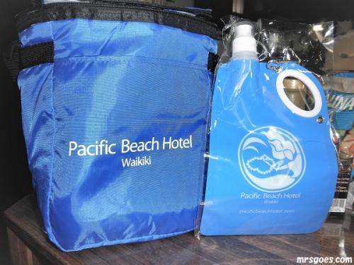 585 (2)パシフィックビーチホテルでもらったもの