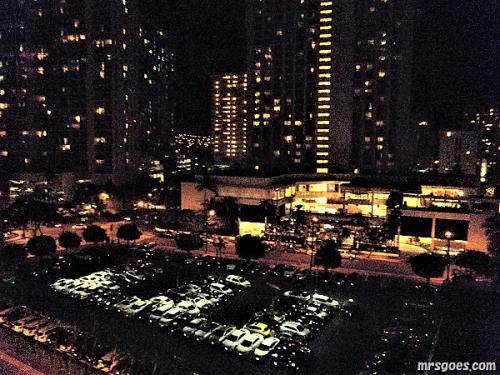 227 パシフィックビーチホテルの夜景 (2)