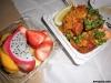 223 キングスビレッジFMで調達した夕食