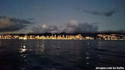 1 マジェスティック号からの夜景