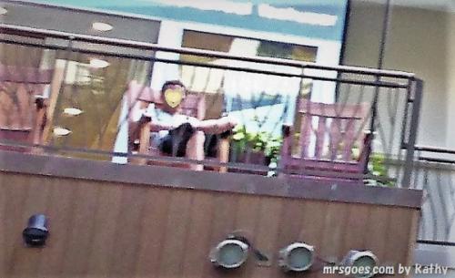 マーテイン・マッカーサーのゆり椅子