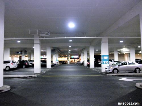 アラモアナの駐車場