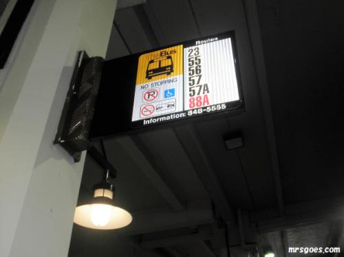 347 バス乗り場