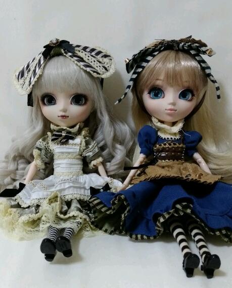 アリス二人