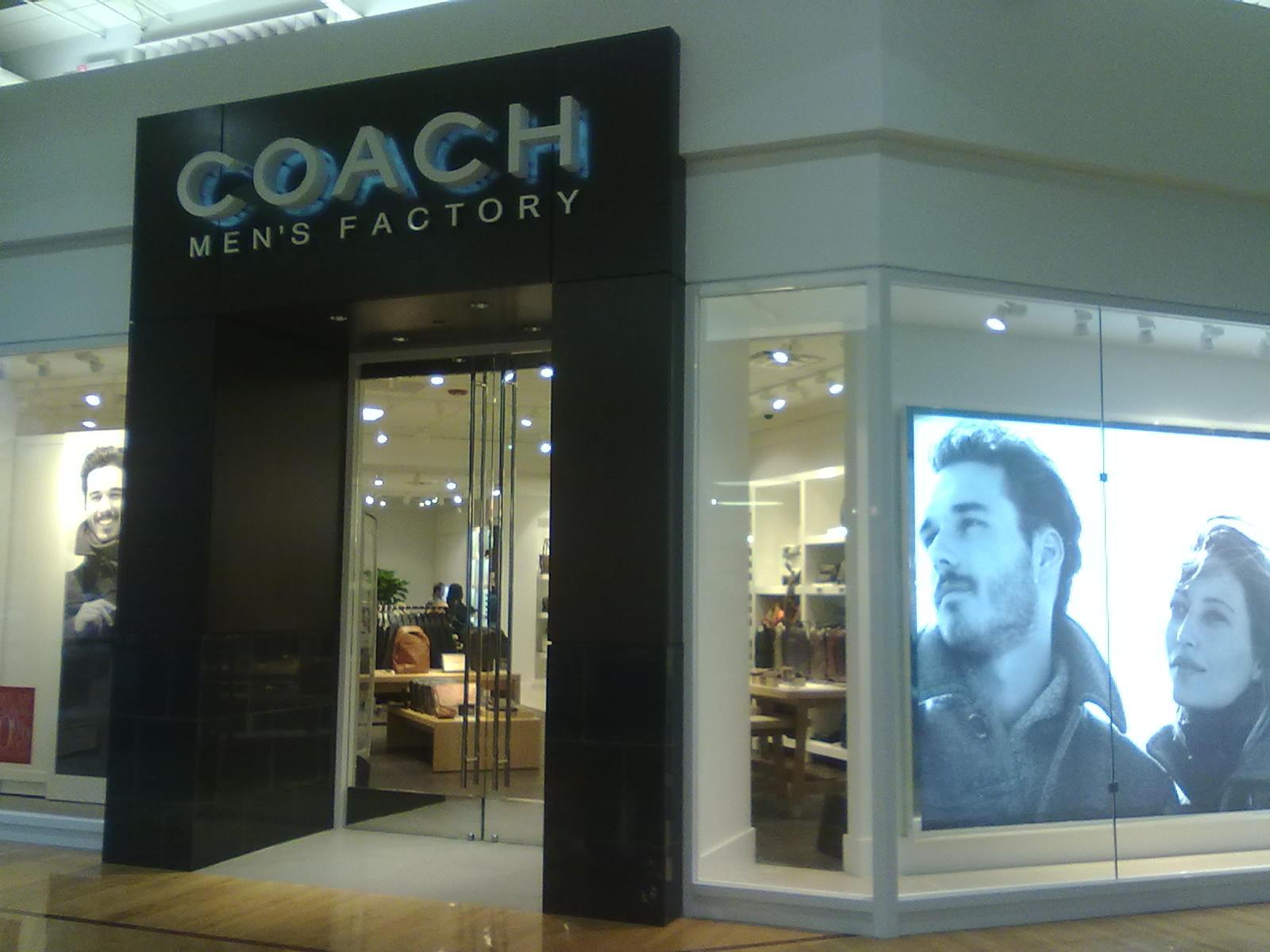 シアトルのコーチ新店舗