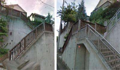 バイナルフェンスの施工前
