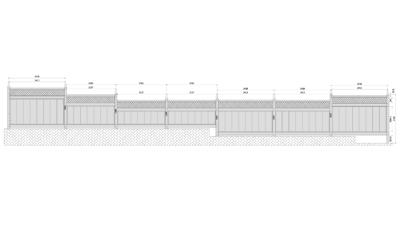 バリューフェンスの図面