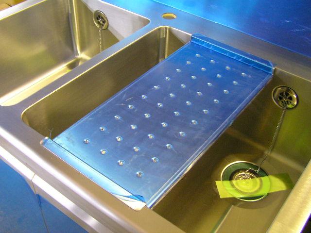 業務用流し台 作業プレート 水切りプレート