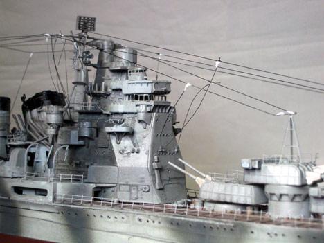 1/350 重巡洋艦 高雄 プラモデル