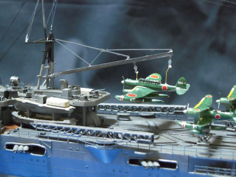 1/350 日本航空巡洋艦 最上 プラモデル