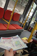 ハチ公バス車内