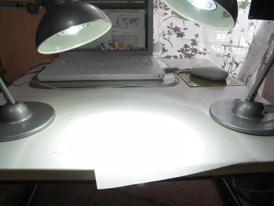 2灯で消費電力8W