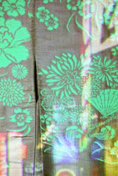 timeless, Installation art, textile, film