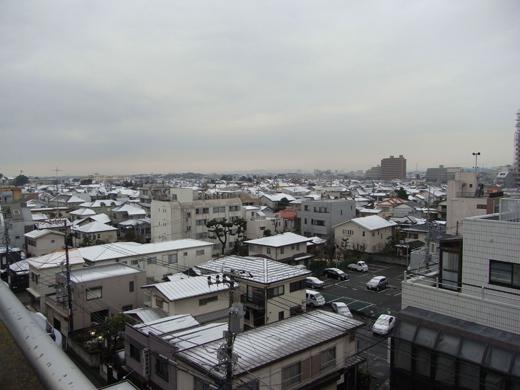 雪、藤沢市