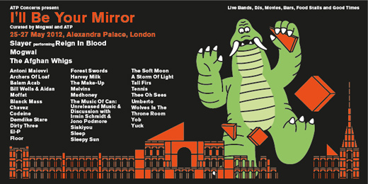 ILL BE YOUR MIRROR LONDON 2012