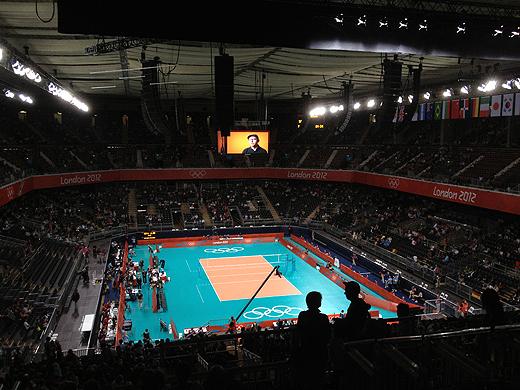 ロンドンオリンピック バレーボール 日本 アルジェリア