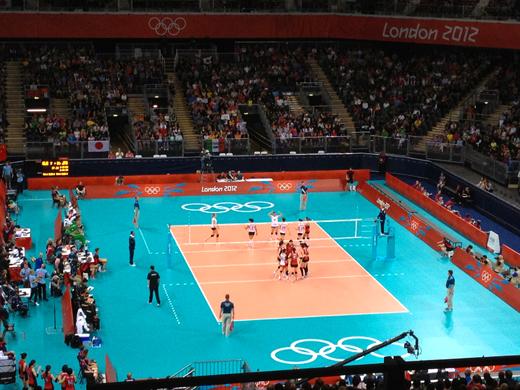 ロンドン2012 オリンピック バレーボール 日本 vs アルジェリア