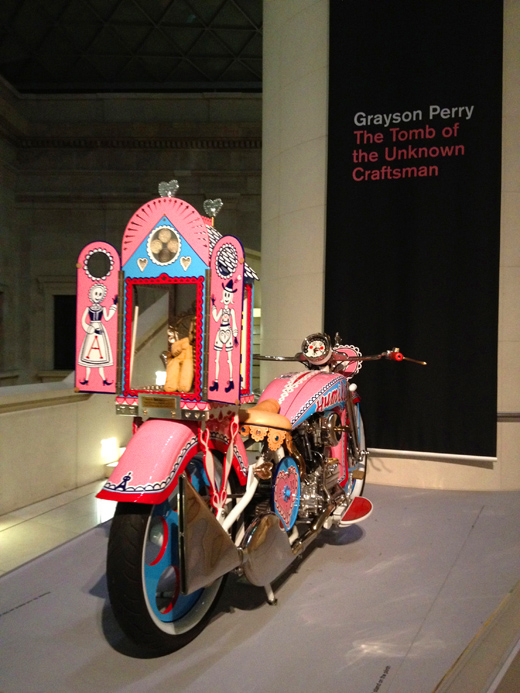 The exhibition of Grayson Perry @ The British Museum/ <br />