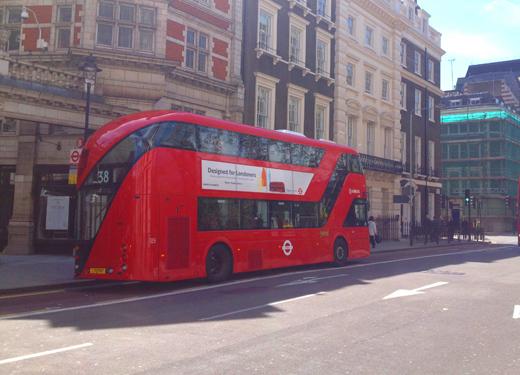 New Routemaster/ 新型バス ルートマスター