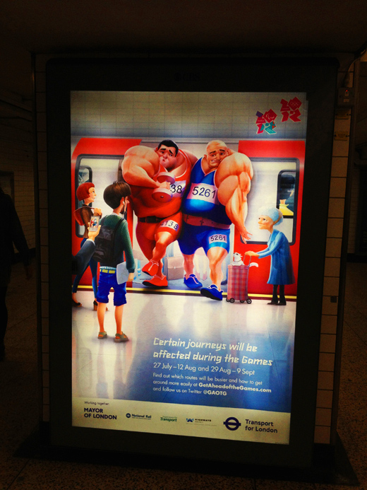 The Posters of London 2012 Olympic/ ロンドン 2012 オリンピック ポスター