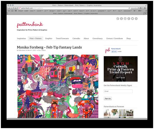 Print + Pattern | Patternbank - Print, Pattern + Graphics Inspiration